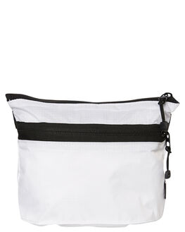 WHITE MENS ACCESSORIES STUSSY BAGS + BACKPACKS - ST797004WHT