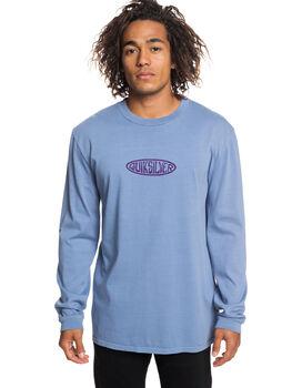 STONE WASH MENS CLOTHING QUIKSILVER TEES - EQYZT05253-BKJ0