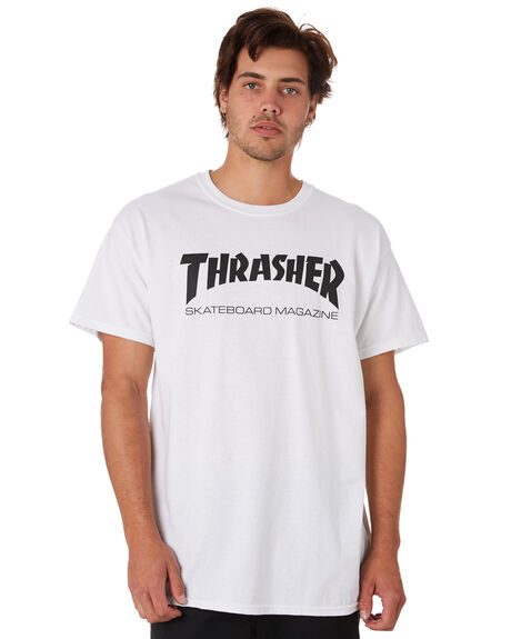 WHITE MENS CLOTHING THRASHER TEES - 20065101WHT
