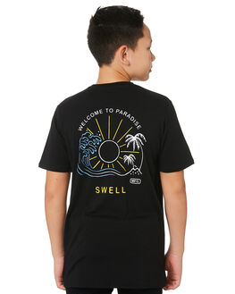 BLACK KIDS BOYS SWELL TOPS - S3172002BLACK