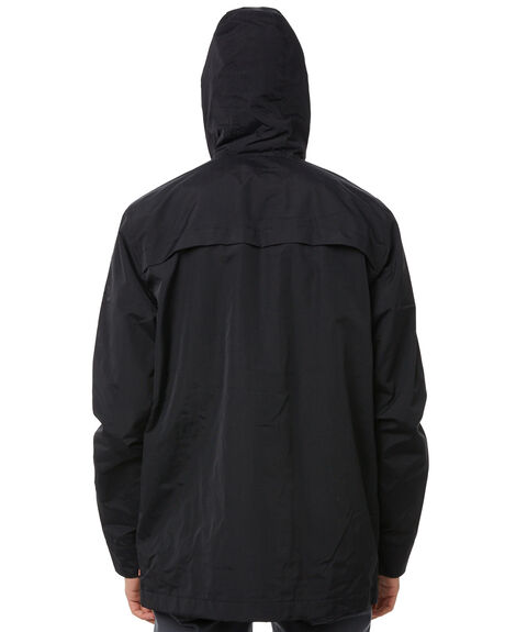BLACK MENS CLOTHING GLOBE JACKETS - GB01837005BLK
