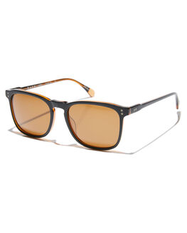 BLACK BROWN MENS ACCESSORIES RAEN SUNGLASSES - 100M161WLY-S175-54
