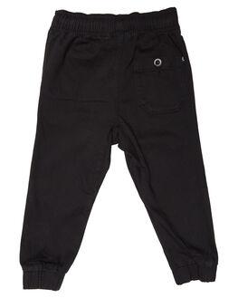 BLACK KIDS BOYS RUSTY PANTS - PAR0152BLK