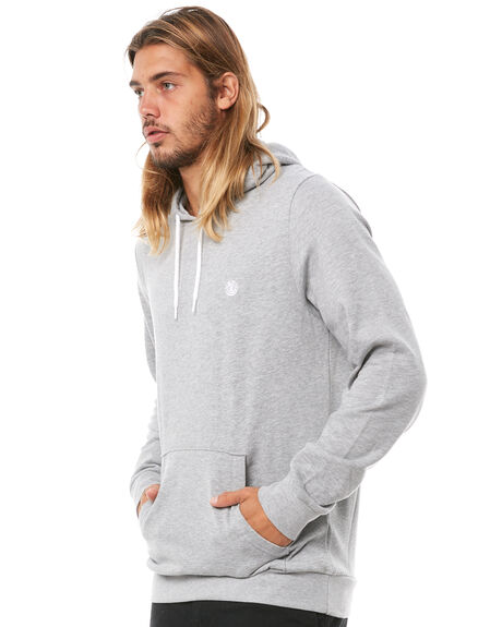 GREY HEATHER MENS CLOTHING ELEMENT JUMPERS - 176303CGRYH