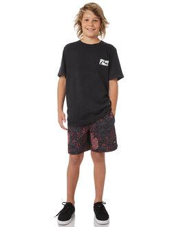 BLACK KIDS BOYS RUSTY TEES - TTB0595BLK