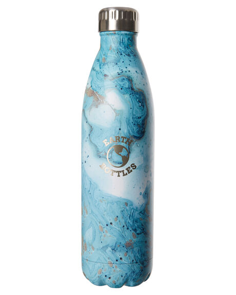 MARBLE BLUE MENS ACCESSORIES EARTH BOTTLES DRINKWARE - EBMB750MABLU