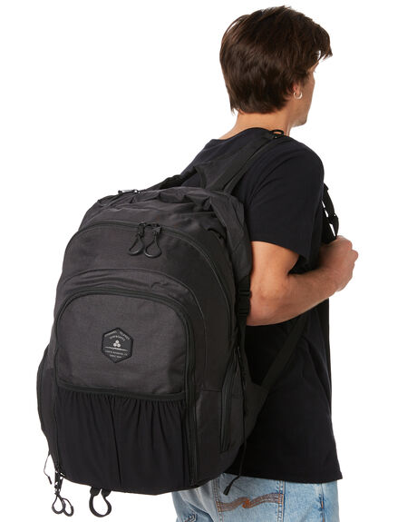 BLACK MENS ACCESSORIES CHANNEL ISLANDS BAGS + BACKPACKS - 17332100001BLK