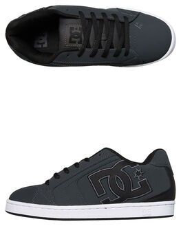 GREY BLACK MENS FOOTWEAR DC SHOES SNEAKERS - 302361GYB