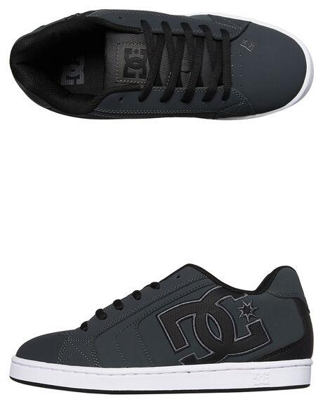 GREY BLACK MENS FOOTWEAR DC SHOES SNEAKERS - 302361GYB