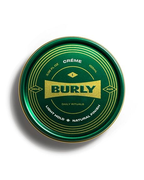 NATURAL HOME + BODY BODY BURLY MENS GROOMING - BURLYCREME