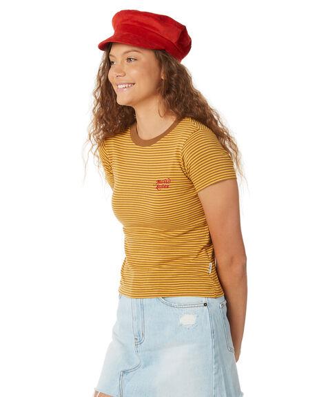 YELLOW WOMENS CLOTHING INSIGHT TEES - 5000001737YEL