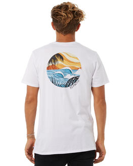 WHITE OUTLET MENS DEPACTUS TEES - D5183001WHITE