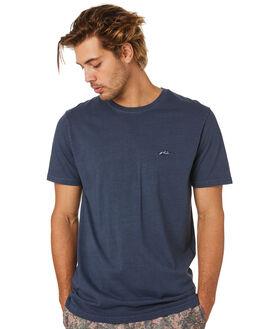 DARK SAPPHIRE MENS CLOTHING RUSTY TEES - TTM2387DRS