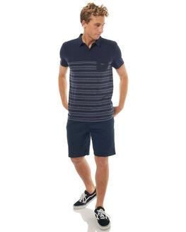 NAVY BLAZER BLUE MENS CLOTHING QUIKSILVER SHIRTS - EQYKT03632BYJ3