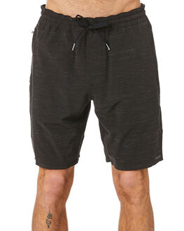BLACK MENS CLOTHING VOLCOM BOARDSHORTS - A3212001BLK