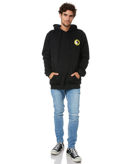 BLACK MENS CLOTHING TOWN AND COUNTRY JUMPERS - TFT610ABLK