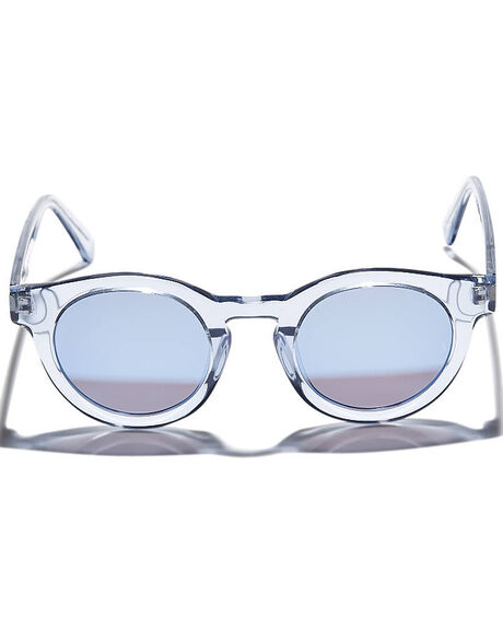 TRANSPARENT LIGHT BLUE UNISEX ADULTS SUNDAY SOMEWHERE SUNGLASSES - SUN016-LTB-SUN