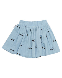 CHAMBRAY KIDS TODDLER GIRLS TINY TRIBE SKIRTS - TTW18-2001ACHM