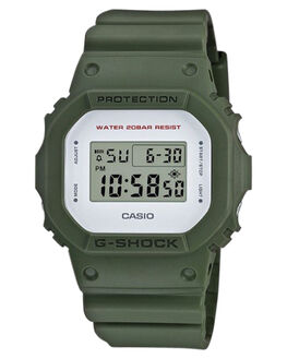 ARMY GREEN MENS ACCESSORIES G SHOCK WATCHES - DW5600M-3EARMGN
