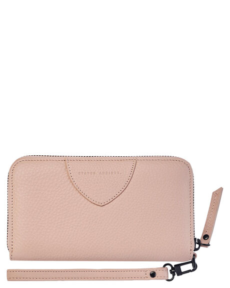 DUSTY PINK WOMENS ACCESSORIES STATUS ANXIETY PURSES + WALLETS - SA1644DSTPK