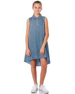 BLUE NAVY STRIPE KIDS GIRLS EVES SISTER DRESSES - 9920009BLNV
