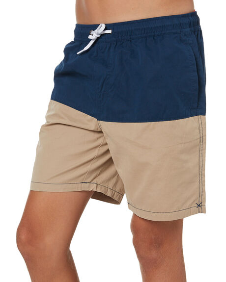 NAVY KIDS BOYS SWELL SHORTS - S3201239NVY