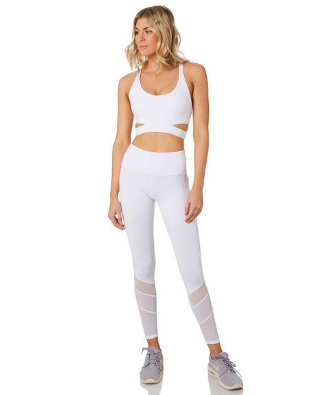 WHITE WOMENS CLOTHING LORNA JANE ACTIVEWEAR - 101924WHT