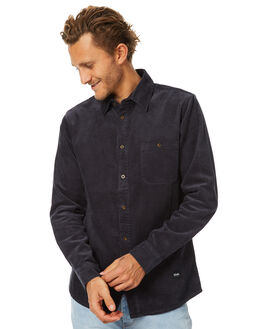 DEEP NAVY MENS CLOTHING AFENDS SHIRTS - 05-02-113DNVY