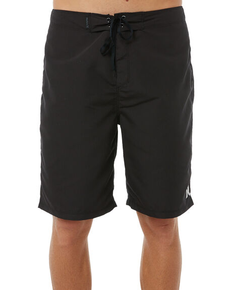 BLACK MENS CLOTHING HURLEY BOARDSHORTS - 923629010