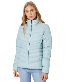 CLOUD BLUE WOMENS CLOTHING THE NORTH FACE JACKETS - NF0A3JRMEFT