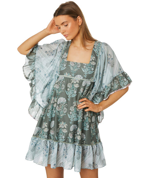 PATCHWORK WOMENS CLOTHING TIGERLILY DRESSES - T395403PAT