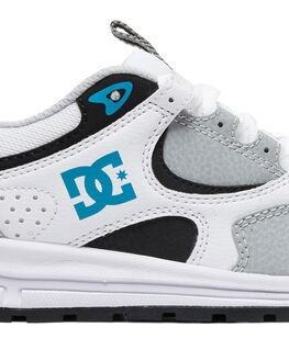 GREY/BLUE/WHITE KIDS BOYS DC SHOES SNEAKERS - ADBS700078-GBW