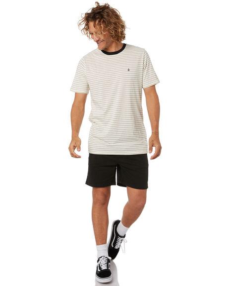 PRIMER WHITE MENS CLOTHING VOLCOM TEES - A0132005PWT