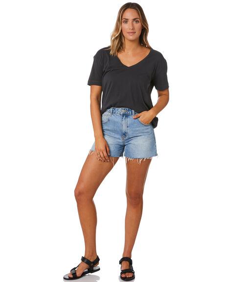 VINTAGE BLACK WOMENS CLOTHING SWELL FASHION TOPS - S8211001VINBK