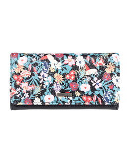 ANTHRACITE BOUQUET WOMENS ACCESSORIES ROXY PURSES + WALLETS - ERJAA03668-KVJ8