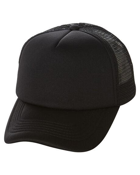 BLACK MENS ACCESSORIES SWELL HEADWEAR - S51641616BLK