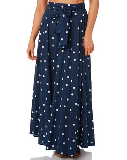NAVY WOMENS CLOTHING TIGERLILY SKIRTS - T392282NAVY