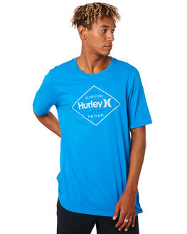 BLUE MENS CLOTHING HURLEY TEES - AUDLCKD334