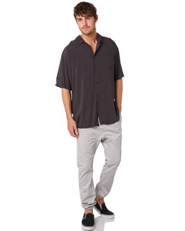 VINTAGE BLACK MENS CLOTHING ZANEROBE SHIRTS - 301-VERVNBLK