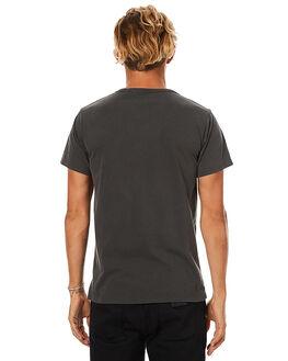 DIRTY BLACK MENS CLOTHING BANKS TEES - WTS0160DBL