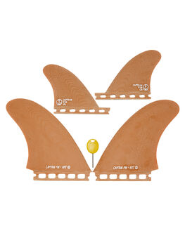 BROWN BOARDSPORTS SURF CAPTAIN FIN CO. FINS - CFF2311800BRN