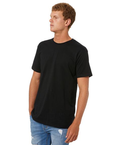 BLACK MENS CLOTHING SILENT THEORY TEES - 40X0029BLK