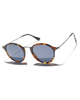 SPOTTED BLUE GREY MENS ACCESSORIES RAY-BAN SUNGLASSES - 0RB244749158R5