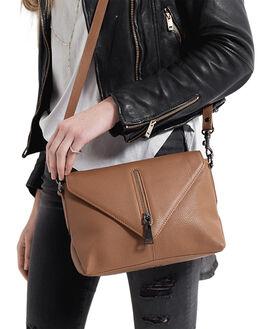 TAN WOMENS ACCESSORIES STATUS ANXIETY BAGS + BACKPACKS - SA7582TAN