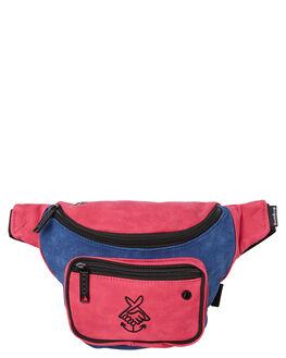 PINK AND PURPLE MENS ACCESSORIES THE BUMBAG CO BAGS + BACKPACKS - CO004PAP