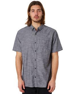 BLACK MENS CLOTHING HURLEY SHIRTS - 895020010
