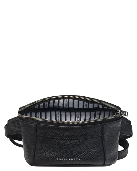BLACK WOMENS ACCESSORIES STATUS ANXIETY BAGS + BACKPACKS - SA7701BLK