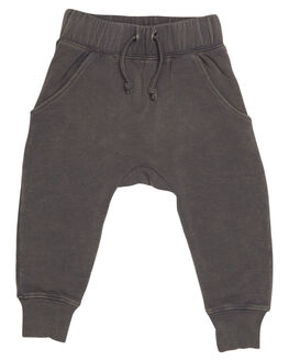 WASHED GREY KIDS TODDLER BOYS ROCK YOUR BABY PANTS - TUP1819-WGWSHG
