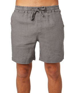 CHARCOAL MENS CLOTHING ACADEMY BRAND SHORTS - 19S609CHA