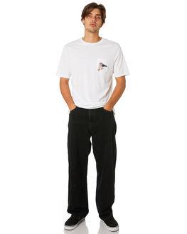 BLACK VENOM WASH MENS CLOTHING VOLCOM JEANS - A1931950BVW